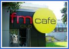 Наружная реклама для fm CAFE